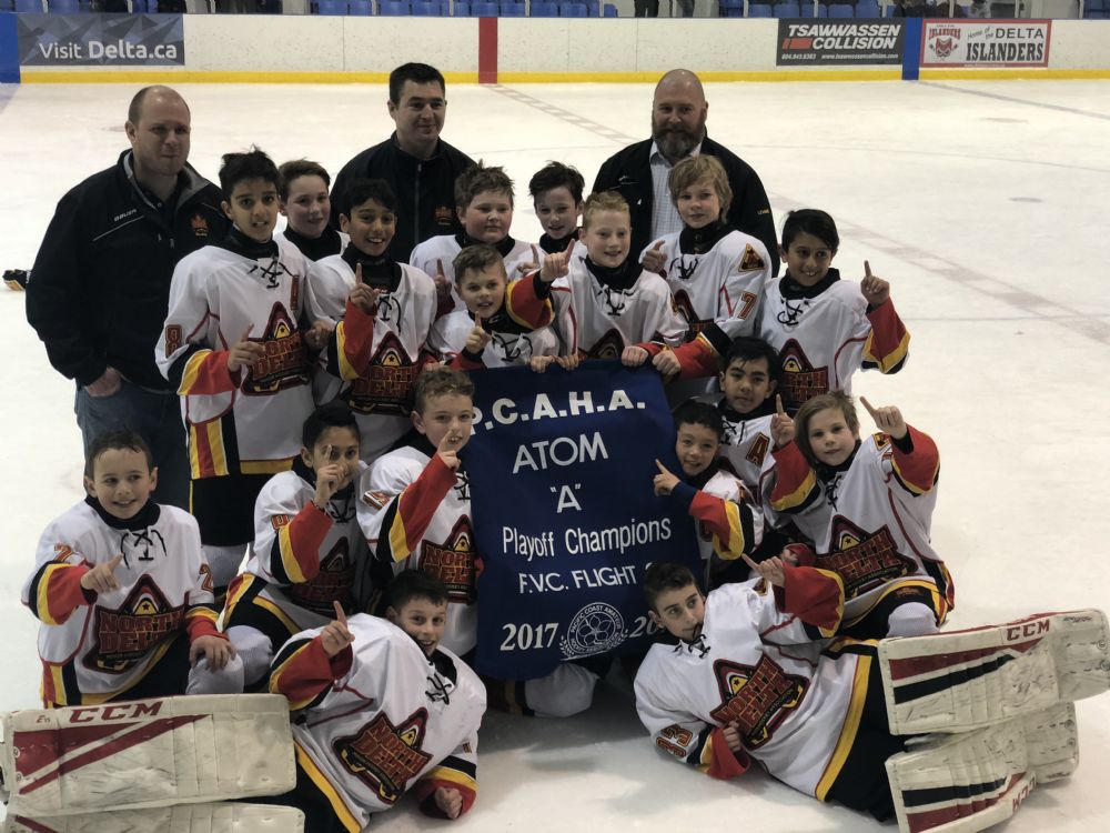 Atom A1 Wins Playoff Banner!