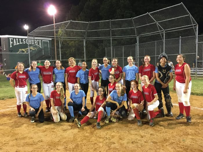 Fucking Gagging Northern Virginia Girls Softball